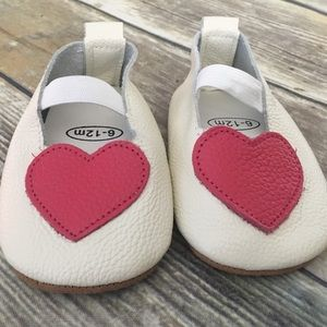 Other - NWT Leather Heart Walker Shoes
